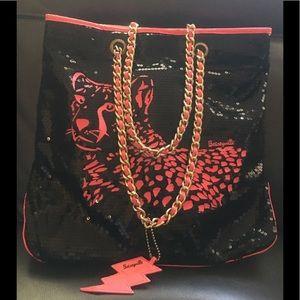 Betsey Johnson Betseyville Sequenced Bag